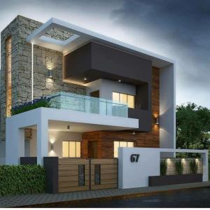 Gallery Cover Image of 3200 Sq.ft 3 BHK Villa for buy in Thanisandra for 19000000