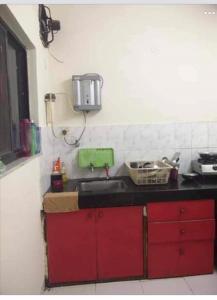 Kitchen Image of Single Sharing Room in Viman Nagar