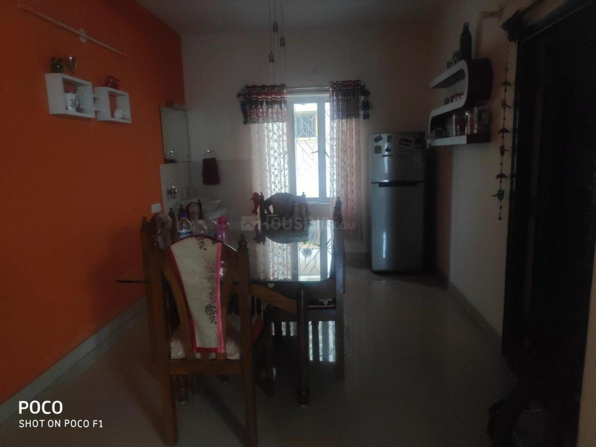 Living Room Image of 1450 Sq.ft 3 BHK Independent Floor for rent in New Town for 30000