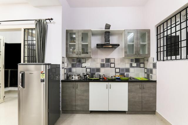 Kitchen Image of Oyo Life Chn1136 Tidel Park in Thiruvanmiyur