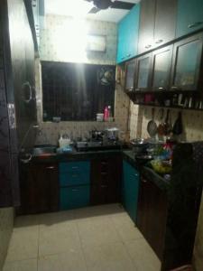 मिरा रोड ईस्ट में लिली पीजी के किचन की तस्वीर