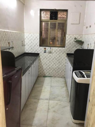 Kitchen Image of 600 Sq.ft 1 BHK Apartment for rent in Bhuleshwar for 35000