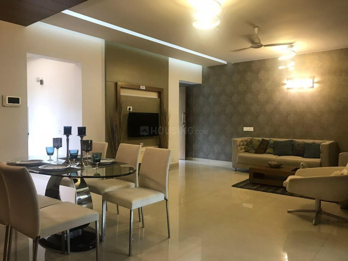 Living Room Image of 1124 Sq.ft 2 BHK Apartment for buy in Wakad for 8330000