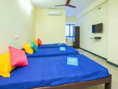 गाछीबौली में ज़ोलो रिपप्ले के बेडरूम की तस्वीर