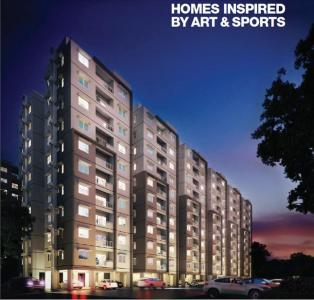 Gallery Cover Image of 1221 Sq.ft 3 BHK Apartment for buy in Provident Kenworth, Budvel for 8500000