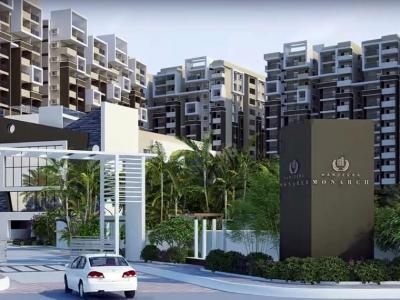 Gallery Cover Image of 1070 Sq.ft 2 BHK Apartment for buy in Manjeera Monarch, Mangalagiri for 5243000