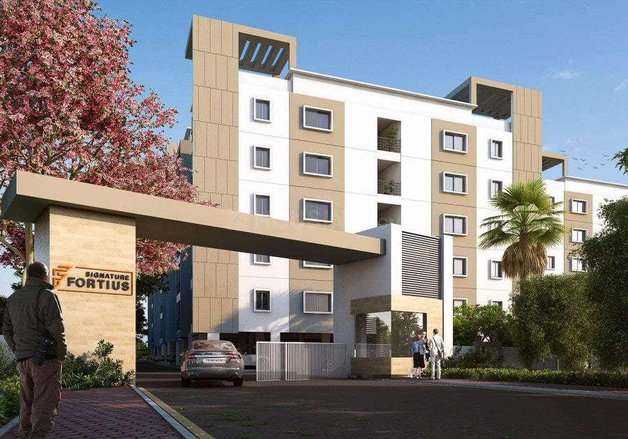 Building Image of 1210 Sq.ft 2 BHK Apartment for buy in Isnapur for 3630000