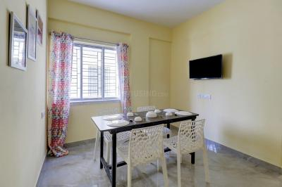 Dining Area Image of Oyo Life Kol1425 Newtown in New Town