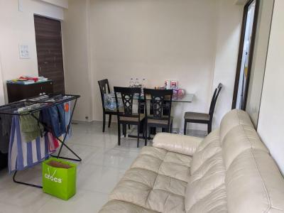 Gallery Cover Image of 585 Sq.ft 1 BHK Apartment for rent in Thane West for 22000