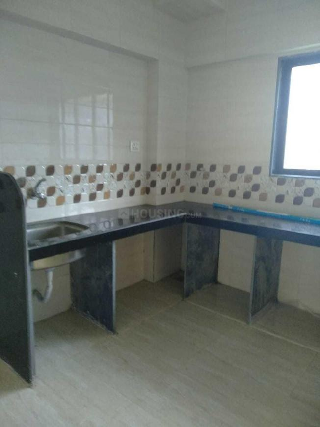 Kitchen Image of 635 Sq.ft 1 BHK Apartment for rent in Kamothe for 9000