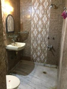 Bathroom Image of Amar Colony Ac Accommodations in Lajpat Nagar
