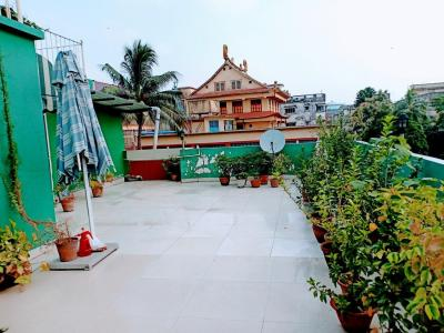 Terrace Image of Susmita's Paying Guest For Female in Bangur Avenue