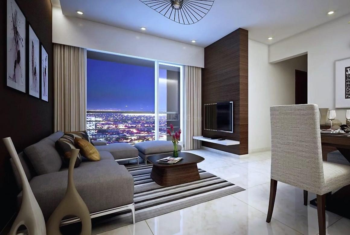 Living Room Image of 750 Sq.ft 1 BHK Apartment for buy in Dahisar East for 7115200