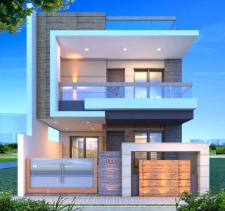 Gallery Cover Image of 1600 Sq.ft 3 BHK Independent House for buy in Rau for 3500000