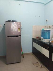 Kitchen Image of Gagan Lake View PG in Krishnarajapura
