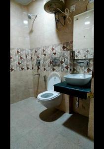 Bathroom Image of Aradhya PG in Sector 57