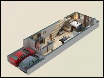 Gallery Cover Image of 2000 Sq.ft 3 BHK Independent House for buy in Mansarovar for 8200000