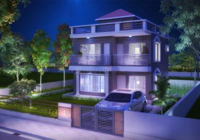 Gallery Cover Image of 1341 Sq.ft 3 BHK Independent House for buy in Lake Life Township, Joka for 4700000