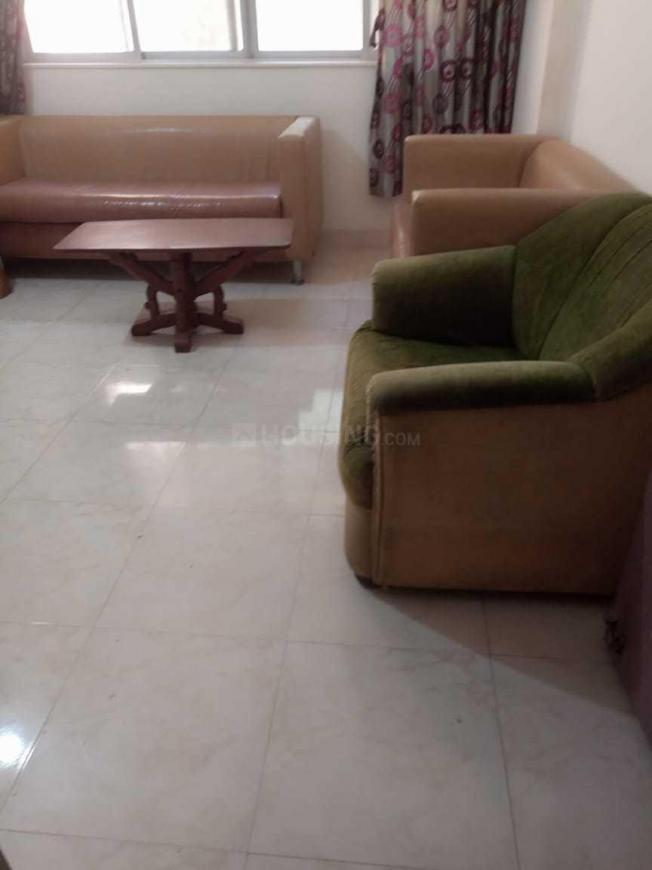 Living Room Image of 600 Sq.ft 1 BHK Apartment for rent in Andheri West for 40000