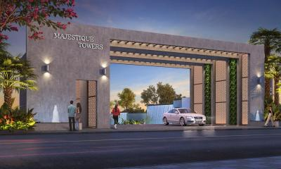 Gallery Cover Image of 1090 Sq.ft 2 BHK Apartment for buy in Majestique Towers East, Kharadi for 6800000