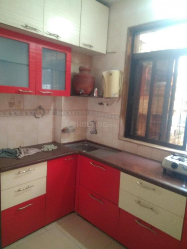 Kitchen Image of 800 Sq.ft 2 BHK Apartment for rent in Vashi for 30000