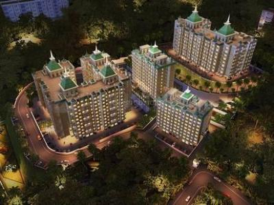 Gallery Cover Image of 553 Sq.ft 1 BHK Apartment for buy in Arihant Aloki, Karjat for 2200000