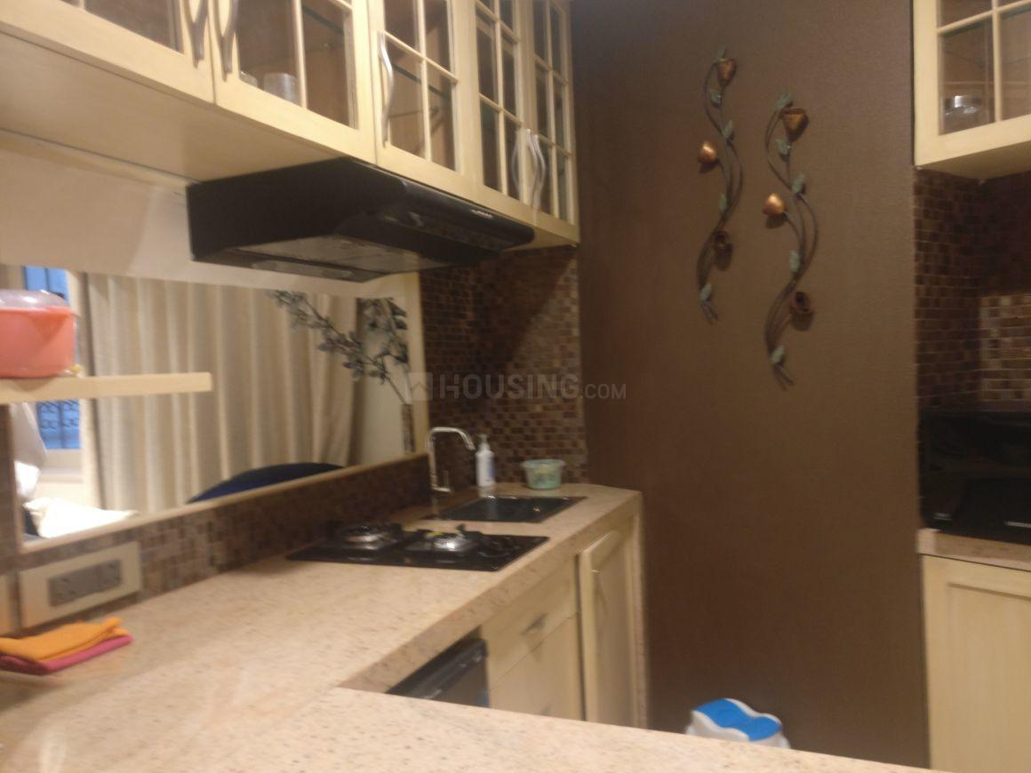 Kitchen Image of 850 Sq.ft 1 BHK Apartment for rent in Bandra West for 65000
