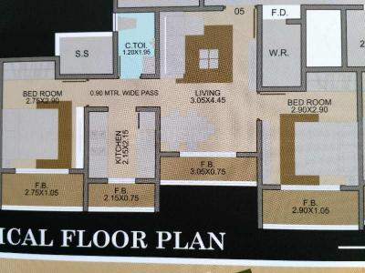 Gallery Cover Image of 1090 Sq.ft 2 BHK Apartment for buy in Star Hibiscus Heights, Bhayandar East for 8700000