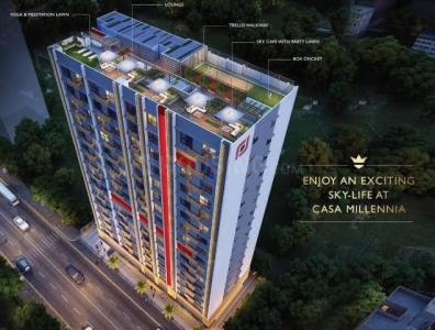 Gallery Cover Image of 660 Sq.ft 2 BHK Apartment for buy in Platinum Casa Millennia, Andheri West for 14000000