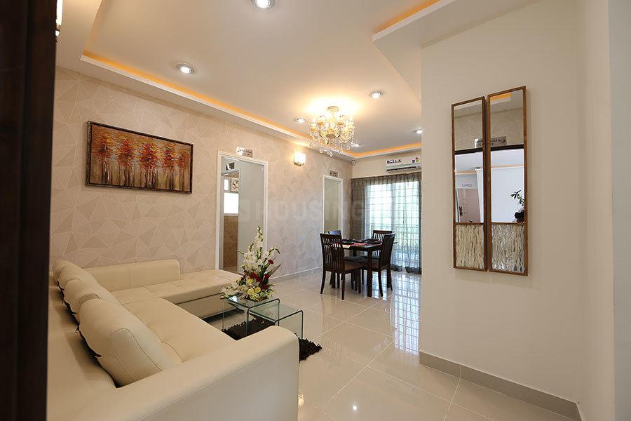 Living Room Image of 950 Sq.ft 3 BHK Apartment for rent in Sector 82 for 8000