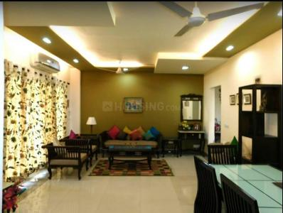 Gallery Cover Image of 1200 Sq.ft 3 BHK Apartment for rent in Uphar Tower, Baishnabghata Patuli Township for 45000