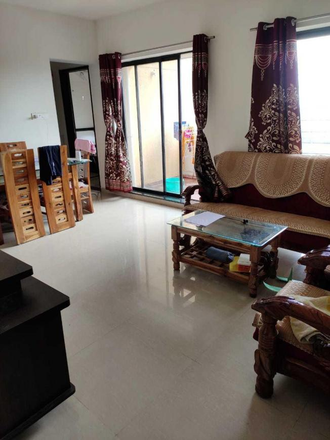 Living Room Image of 1230 Sq.ft 2 BHK Apartment for rent in Lohegaon for 18000