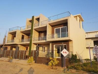 Gallery Cover Image of 1539 Sq.ft 4 BHK Villa for buy in Jhalwa for 6500000