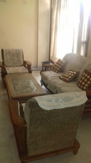 मनेसार में राव पीजी में लिविंग रूम की तस्वीर