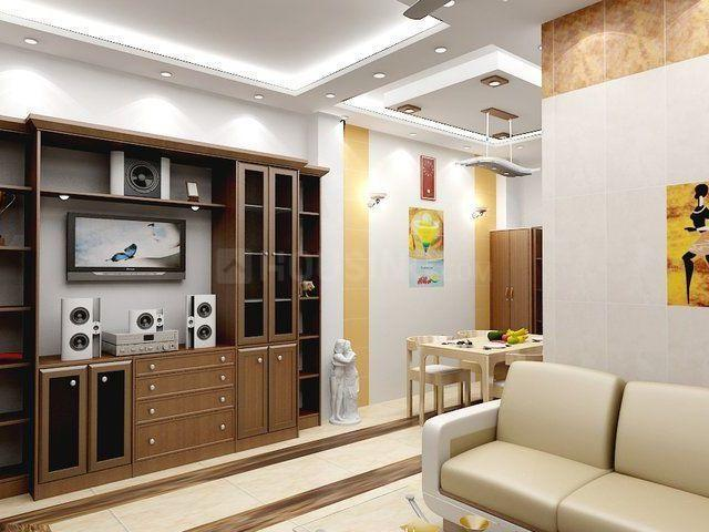 Living Room Image of 1000 Sq.ft 2 BHK Independent Floor for rent in Sector 19 Dwarka for 20000
