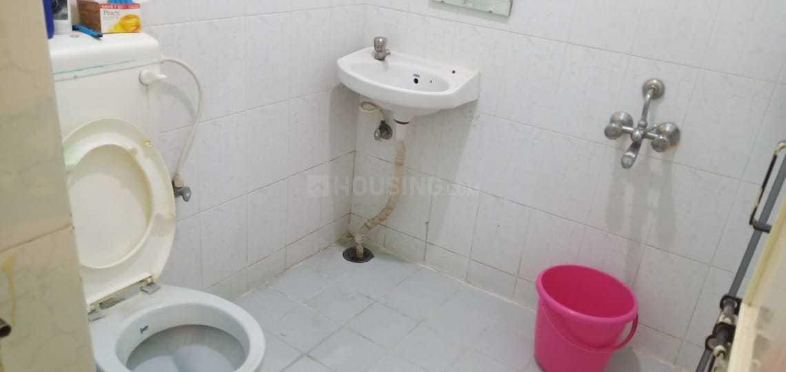 Common Bathroom Image of 435 Sq.ft 1 BHK Independent Floor for rent in Thippasandra for 13000