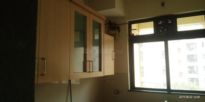Kitchen Image of 600 Sq.ft 1 BHK Apartment for rent in Hiranandani Estate for 20000