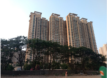 Building Image of 1110 Sq.ft 3 BHK Apartment for rent in Thane West for 28000