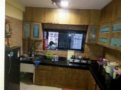 Kitchen Image of Living Room, Single Ocupancy in Jogeshwari West