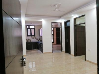 Gallery Cover Image of 1575 Sq.ft 3 BHK Independent Floor for rent in Chhattarpur for 22000