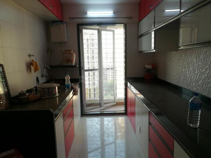 Kitchen Image of 1150 Sq.ft 2 BHK Apartment for rent in Seawoods for 40000