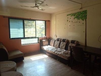 Gallery Cover Image of 725 Sq.ft 1 BHK Apartment for rent in Airoli for 25000