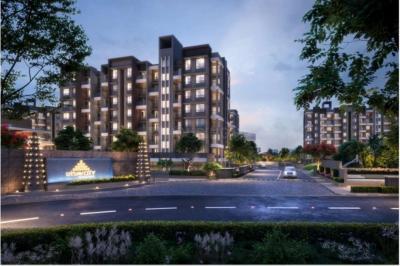 Gallery Cover Image of 650 Sq.ft 1 BHK Apartment for buy in Today Utsav City, Shivkar for 4000000