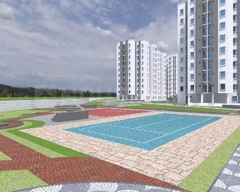 Gallery Cover Image of 464 Sq.ft 2 BHK Apartment for buy in Kogilu for 2596660