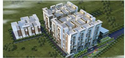 Gallery Cover Image of 1525 Sq.ft 3 BHK Apartment for buy in Sahiti Karthikeya Panorama, Madhapur for 11325000