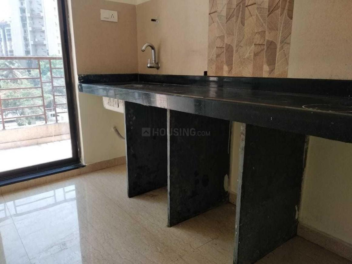 Kitchen Image of 600 Sq.ft 1 BHK Apartment for rent in Taloje for 6000
