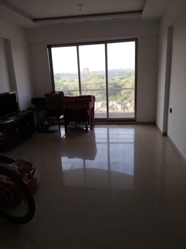 Living Room Image of 650 Sq.ft 1 BHK Apartment for rent in Dombivli East for 9000