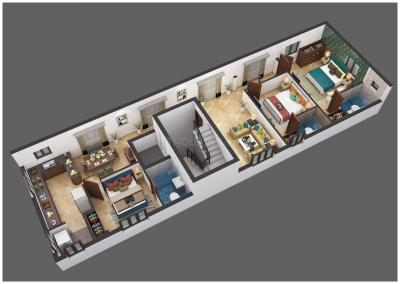 Gallery Cover Image of 1675 Sq.ft 3 BHK Apartment for buy in Besant Nagar for 25000000