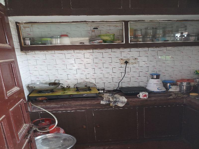 Kitchen Image of 1800 Sq.ft 1 RK Independent Floor for rent in Lohia Nagar for 4500