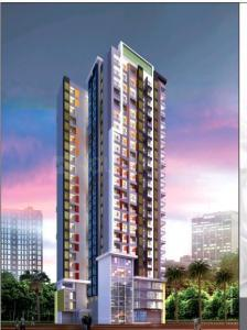 Gallery Cover Image of 625 Sq.ft 1 BHK Apartment for buy in White Rose, Thane West for 7500000